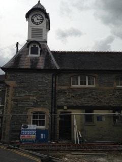 Work begins at Cawdor Hall July 2014